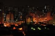 photo villes nuit são paulo photos photo de nuit : Heure de pointe