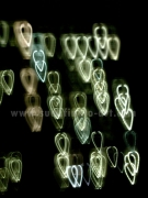 photo abstrait photo abstrait numerique decoration : Coeurs