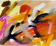 tableau abstrait abstrait reve gestuelle composition : composition n°2