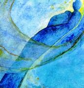 tableau personnages maternite bleu : Maternité bleue