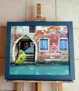 tableau paysages paysage animaux surrealisme fantastique : Venise sauvage