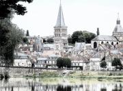 art numerique paysages paysage architecture : Le prieuré