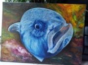 tableau animaux poisson loup : POISSON LOUP