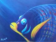 tableau animaux poisson ecossais : poisson écossais