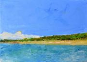 tableau paysages mer cote : Littoral Sud