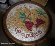 artisanat dart fruits tonneau table vins degustation : dégustation