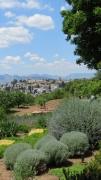 photo alhambra grenade espagne paysage : Du haut de l'Alhambra