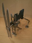 sculpture abstrait : le chien