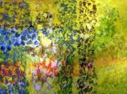 tableau abstrait votre jardin respirer decouverte sereinite : PAYSAGE CHAMPETRE 2
