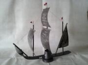 sculpture marine : Le vieux navire