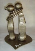 sculpture personnages : Les marteaux
