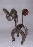 sculpture animaux : Petit chien
