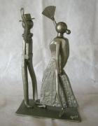 sculpture personnages : Danseurs de flamenco