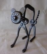 sculpture animaux : Gros minet