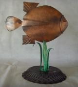 sculpture animaux : Le piranha