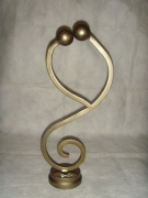 sculpture personnages : Je t'aime