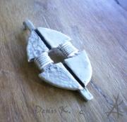 bijoux abstrait art primitif : pendentif1