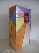 ceramique verre autres lampe vitrail tiffany lampe ,a poser : Lampe Caroline