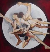 tableau personnages : mouvement dans un cercle