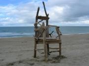 artisanat dart autres bois flotte meuble fauteuil : modèle robinson