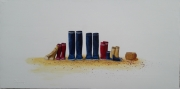 tableau marine bottes famille marine : REUNION DE FAMILLE
