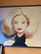 tableau personnages croquette 3 : Barby Hollywood