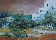 tableau paysages maghreb maroc oranger : Maroc 1