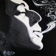 tableau personnages musique chanteur portrait france : Serge Gainsbourg