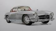 dessin autres : Mercedes 300SL 1955