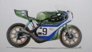 dessin sport : KR 750 1974: Gary Nixon