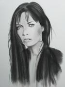dessin personnages : Marie Laforet