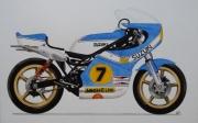 dessin sport : Suzuki 500RG 1976