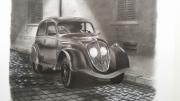 dessin nature morte : Une nuit à Oradour