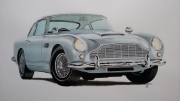 dessin autres : Aston Martin DB5