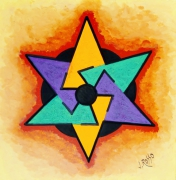 tableau abstrait : Abstrait n° 10