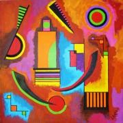 tableau abstrait : Abstrait n° 4