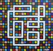 tableau abstrait : Abstrait n° 5