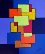 tableau abstrait : Abstrait n° 1