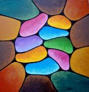 tableau abstrait : Abstrait n° 3
