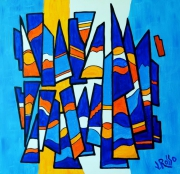 tableau abstrait : Abstrait n° 7