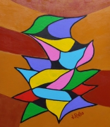 tableau abstrait : Abstrait n° 2