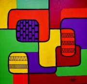 tableau abstrait : Abstrait n° 6