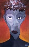 tableau personnages personnage visage reve couleur : Fumerolles oniriques