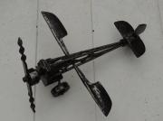 sculpture nature morte avion metal soudure creation : aeroplane
