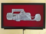 tableau sport formule 1 mecanique sport tableau metal : Formule 1