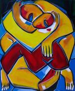 tableau personnages sam keusseyan de marseille : mon Amour adoré