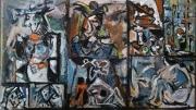 tableau personnages 12e 6 9 4 : étude d'après Picasso ..