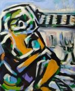 tableau personnages bh sam sam keusseyan : Cubisme