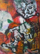 tableau personnages 12e 56 lilush lilush : étude d'après Picasso