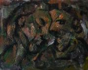 tableau personnages sam keusseyan de marseille : dans miroir
